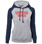 STRANGER THINGS Women's Raglan Hoodie
