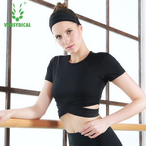 Yoga Fitness Cop Top