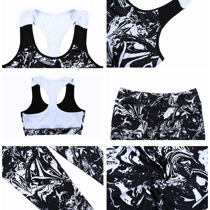 Active Sport Top + Leggings - 2 Piece Set