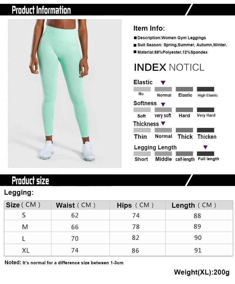 Alisa Seamless Leggings Fitness Yoga Leggings