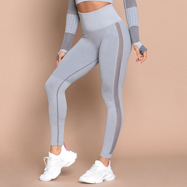 Allie Active Sport Top + Leggings - 2 Piece Set