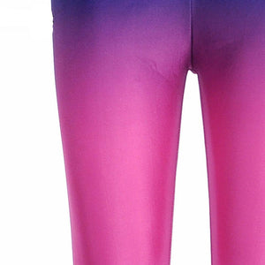 Purple Ombre Leggings - Activa Star