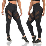 Jessica Mesh Patchwork Leggings - Activa Star