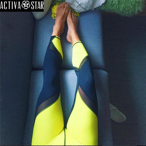 Ali Yoga Active Fitness Gym Workout Leggings - Activa Star