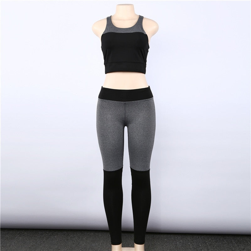 Reese - Fitness Top + Leggings - 2 Piece Set - Activa Star