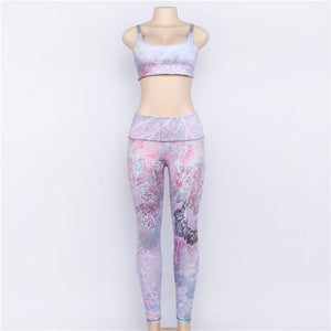 Valerie - Fitness Top + Leggings - 2 Piece Set - Activa Star