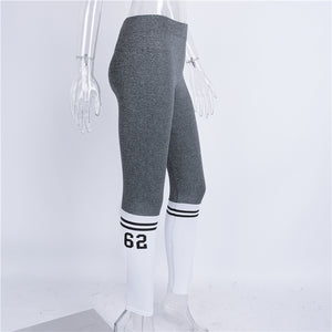 Sock Print Fitness Fashion Leggings - Activa Star
