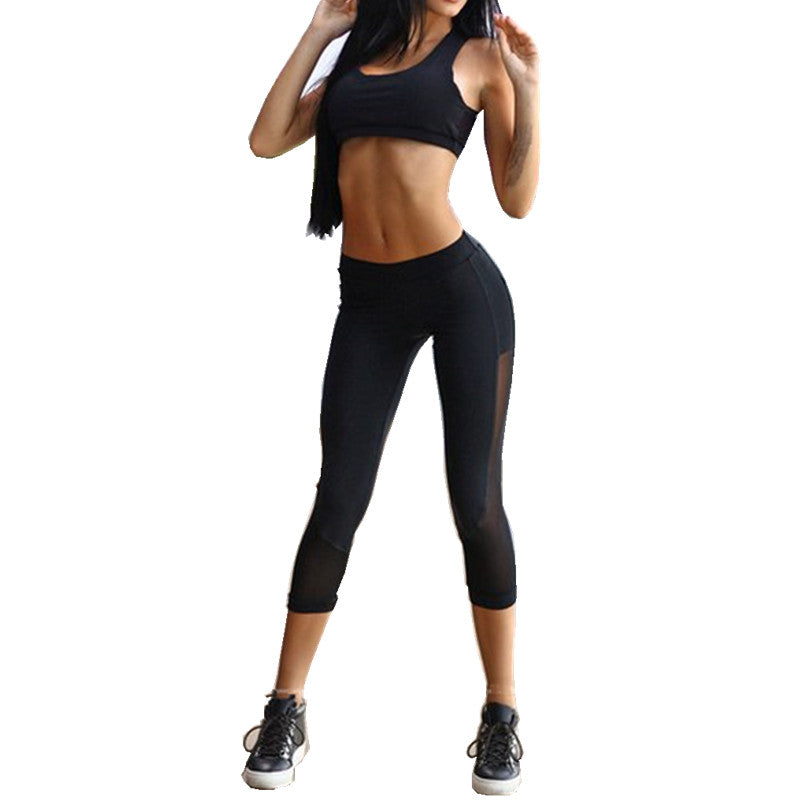 Aniah 2-pc Active Set - Top+Leggings - Activa Star
