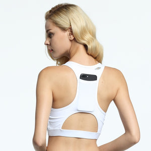 Ember Back Pocket High Quality Shock Sports Bra - Activa Star