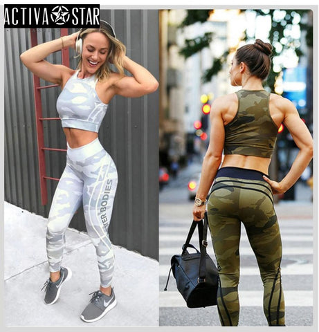 Audrianna Active Leggings - Activa Star