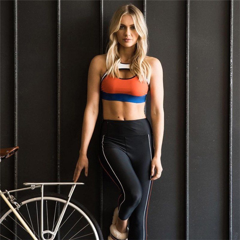 Cecillia - Fitness Top + Leggings - 2 Piece Set - Activa Star