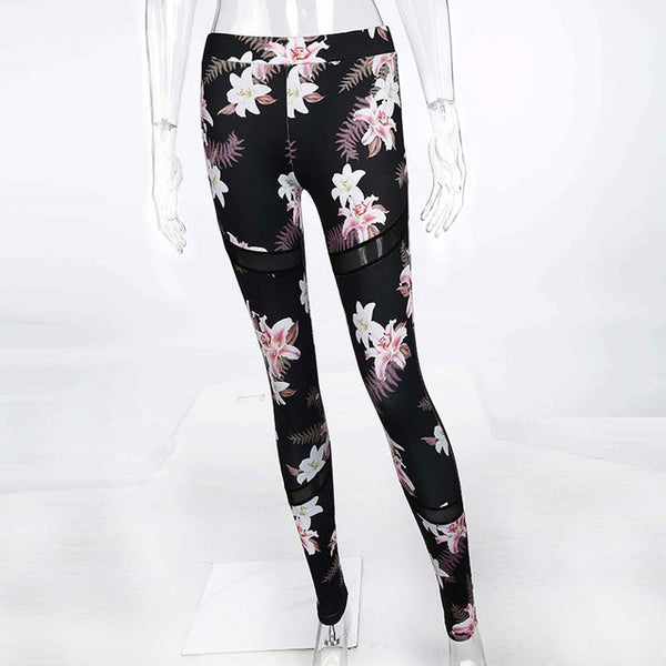 Floral Printed Top And Legging Pants Set - Activa Star