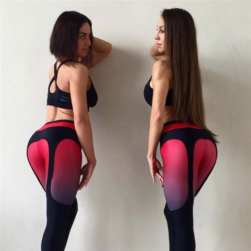Aleenah Yoga Active Fitness Gym Workout Leggings - Activa Star