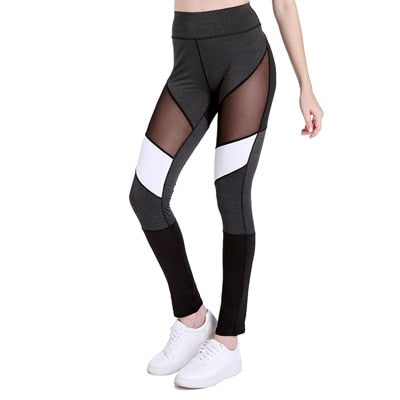 Gemma Patchwork Yoga Leggings - Activa Star