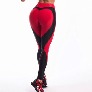 Fiona - Fitness Heart Leggings - Activa Star