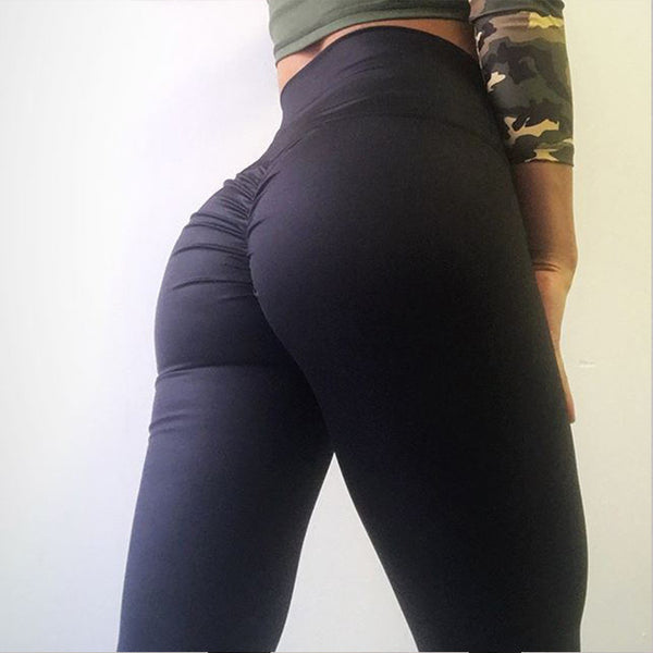 Scrunch Bum Push Up Fitness Leggings - Activa Star
