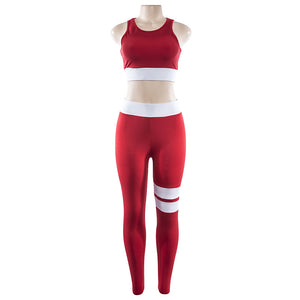 Laila - Fitness Top + Leggings - 2 Piece Set - Activa Star