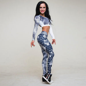 Amaya - Fitness Top + Leggings - 2 Piece Set - Activa Star