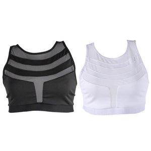 Ione Quick Dry Mesh Breathable Fitness Yoga Sports Bra - Activa Star