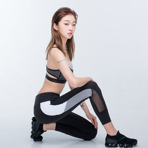 Mesh Pocket Running Sport Leggings - Activa Star
