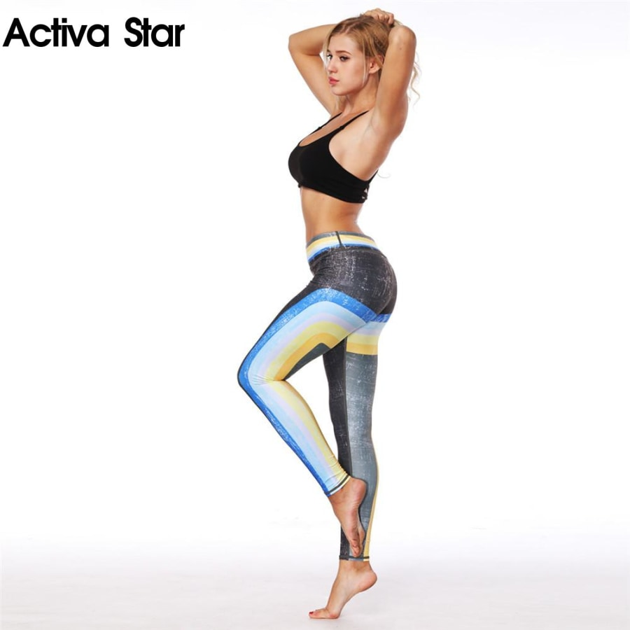 Cali Gradient Leggings - Activa Star