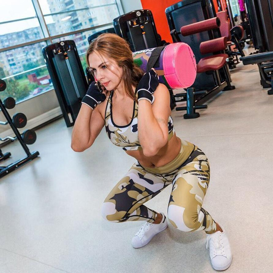 Army Camo Fitness Fashion Leggings - Activa Star