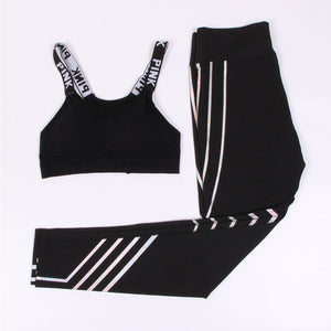 Jasmine - Fitness Top + Leggings - 2 Piece Set - Activa Star
