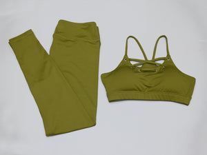 Juliana - Fitness Top + Leggings - 2 Piece Set - Activa Star