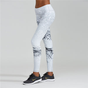 Tree Print Leggings - Activa Star
