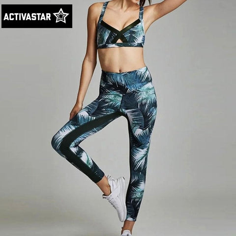 Amy Fitness Top + Leggings Set - Activa Star