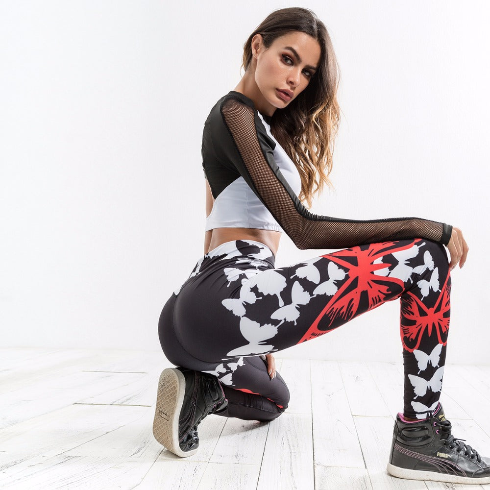 Butterflies Leggings - Activa Star