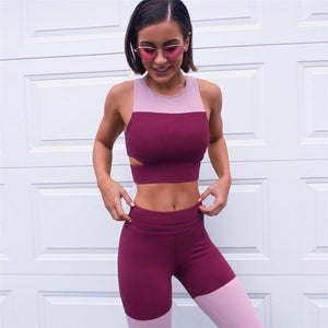 Evelyn - Fitness Top + Leggings - 2 Piece Set - Activa Star