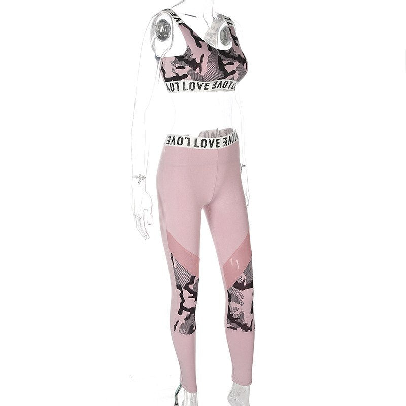 Eloise - Fitness Top + Leggings - 2 Piece Set - Activa Star