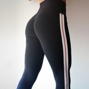 Carly - Side Stripe Fitness Leggings - Activa Star