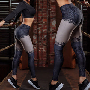 High Waist Yoga Pants Women's Fitness Sport Leggings - 00002 - Activa Star