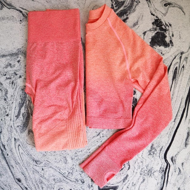 Allison Active Sport Top + Leggings - 2 Piece Set