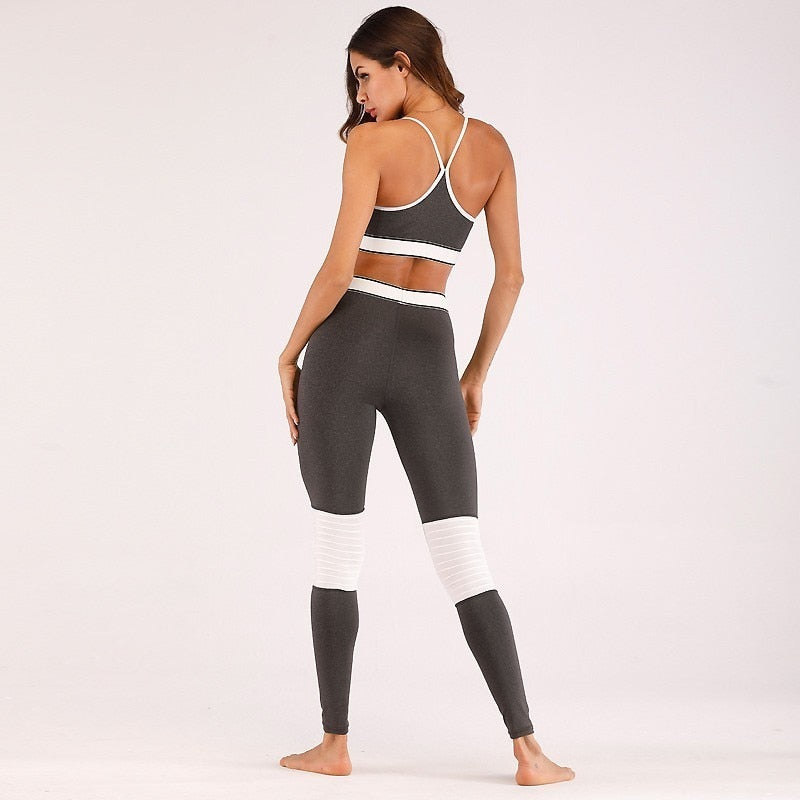 Catalina Women's Yoga Fitness Top + Leggings - 2 Piece Set - Activa Star
