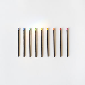 Multicolored Fireplace Matches