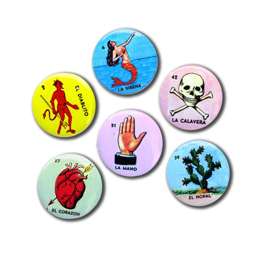Loteria Novelty Magnet Set
