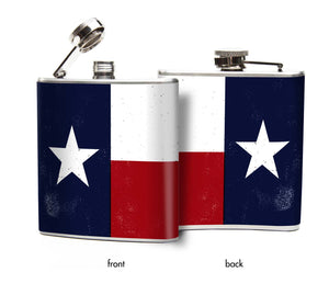Texas State Flag Flask