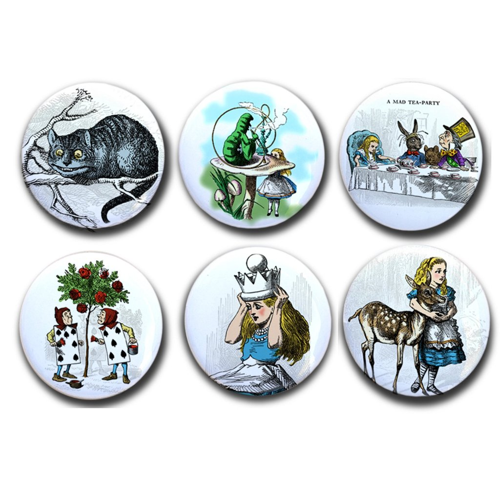 Alice in Wonderland Collectible Magnets