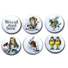 Mad Hatter, Collectible Alice in Wonderland Magnet Set