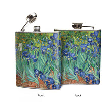 Irises by Van Gogh Flask