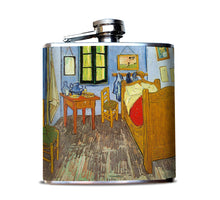 Van Gogh's Bedroom Liquor Flask