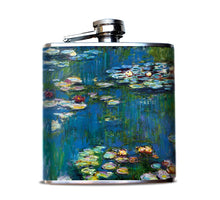 Monet's Water Lilies Liquor Flask
