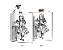 Alice in Wonderland Drink Me Flask