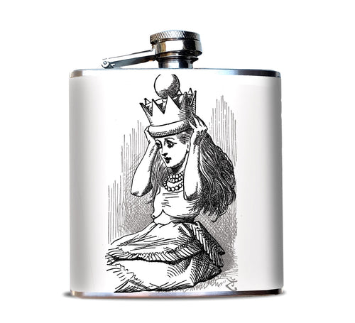 Queen Alice 6 oz Hip Flask