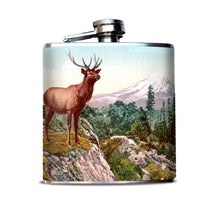 Deer Buck Camping and Hunting Alcohol Flask