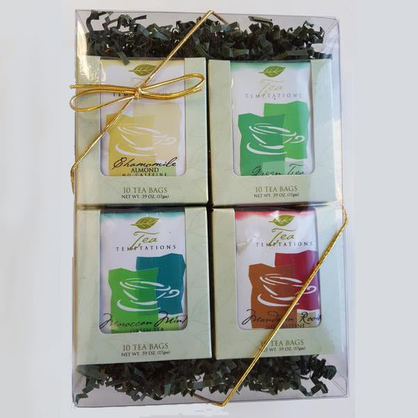 Gift Box with 4 Window Boxes (40 Tea bags)