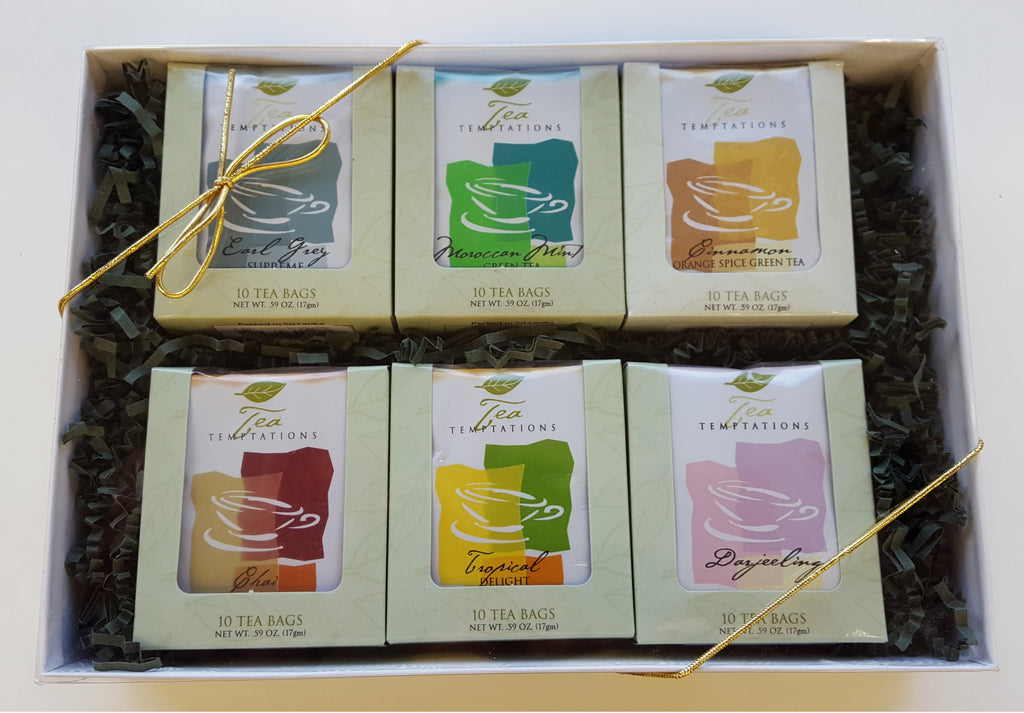 Gift Box with 6 Window Boxes (60 Tea bags)